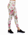 Luxury Flower Printed High Waist Leggings TY 002 - Thumbnail