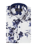 Luxury Flower Printed Long Sleeved Shirt SL 7092 - Thumbnail