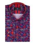 Luxury Flowers Printed Makrom Shirt SL 7103 - Thumbnail
