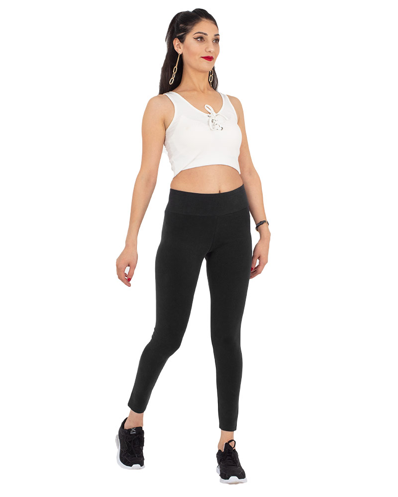 MAKROM - Luxury High Waist Womens Leggings TY 007 (Thumbnail - )