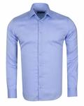 Luxury Long Sleeved Classical Cotton Mens Shirt SL 6418 - Thumbnail