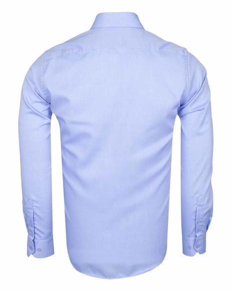 Oscar Banks - Luxury Long Sleeved Classical Cotton Mens Shirt SL 6418 (1)