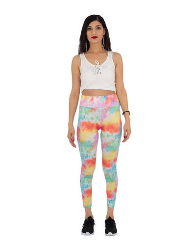 MAKROM - Luxury Multicolored High Waist Leggings TY 005 (1)