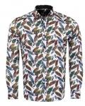 Luxury Nature Printed Long Sleeved Mens Shirt SL 6929 - Thumbnail