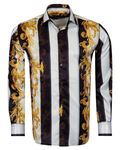 Luxury Oscar Banks Satin Mens Shirt For Mens SL 6940 - Thumbnail