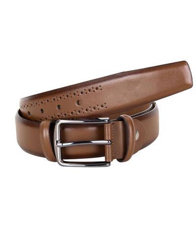 MAKROM - Luxury Patterned Leather Belt B 29
