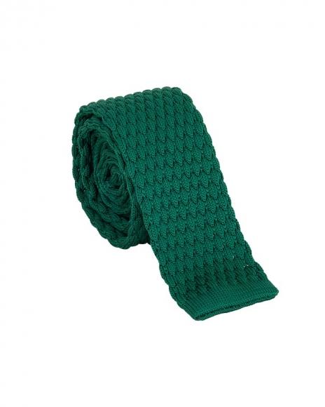 MAKROM - Luxury Plain Design Colorful Knitted Necktie KR 24