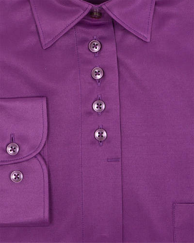 MAKROM - Luxury Plain Womens Shirt with Live Colors LL 3327 (1)