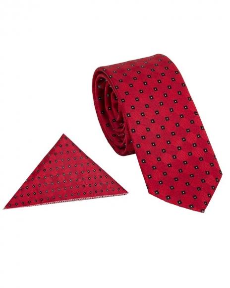 MAKROM - Luxury Polka Dot Design Quality Necktie KR 01 (1)