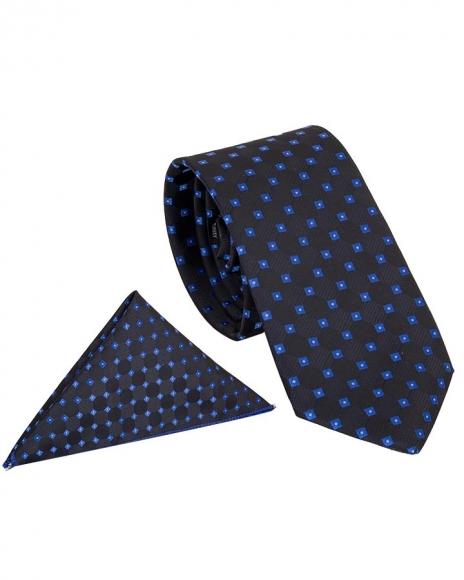 MAKROM - Luxury Polka Dot Design Quality Necktie KR 01 (Thumbnail - )