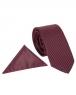 Luxury Polka Dot Textured Quality Necktie KR 12 - Thumbnail