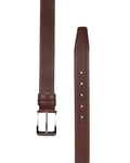 Luxury Poly Ply Leather Belt B 17 - Thumbnail