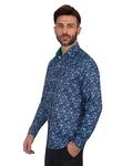 Luxury Printed Long Sleeved Mens Shirt SL 7082 - Thumbnail