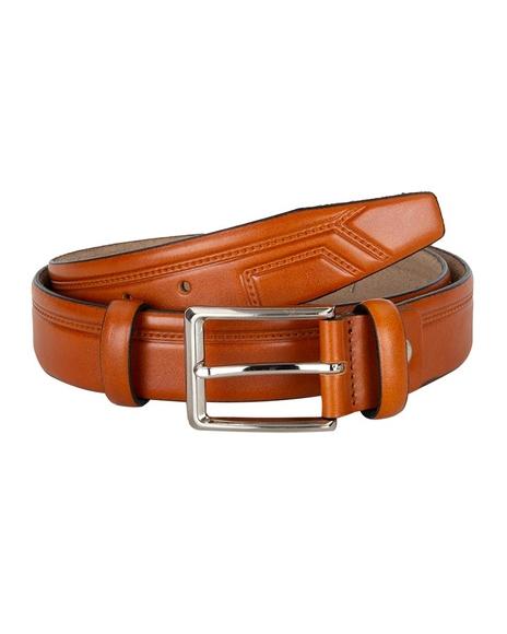 MAKROM - Luxury Single Ply Leather Belt B 19