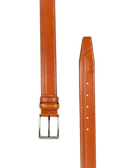 MAKROM - Luxury Single Ply Leather Belt B 19 (1)