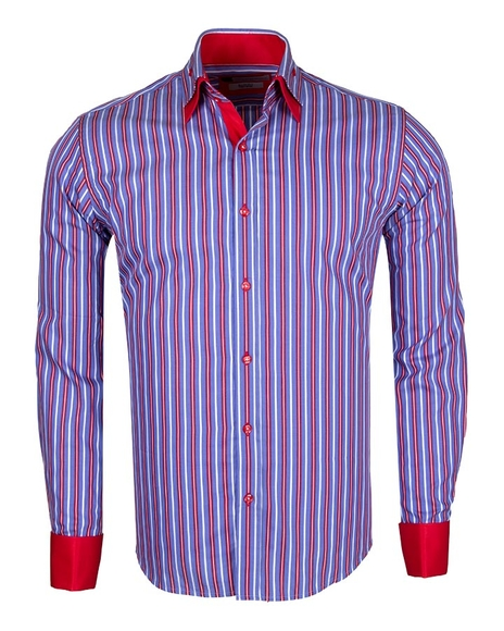 FRANCO GILBERTO - Luxury SL 5358 LONG Sleeved SHIRT (Thumbnail - )