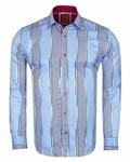 Luxury Striped Long Sleeved Shirt SL 6245 - Thumbnail