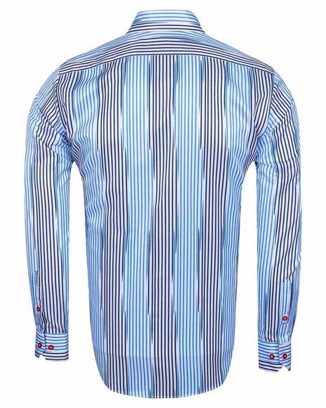 Luxury Striped Long Sleeved Shirt SL 6245