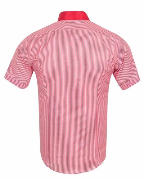 MAKROM - Luxury Striped Short Sleeved Shirt SS 188 (1)