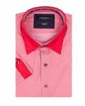 Luxury Striped Short Sleeved Shirt SS 188 - Thumbnail