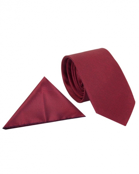 MAKROM - Luxury Textured Classic Premium Necktie KR 06 (Thumbnail - )