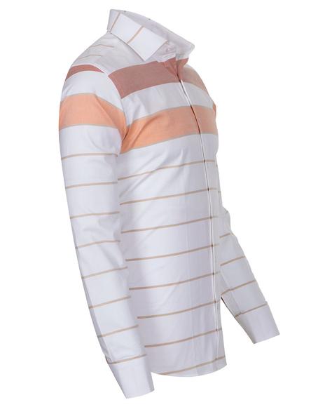 Luxury Textured Long Sleeved Mens Shirt SL 6765