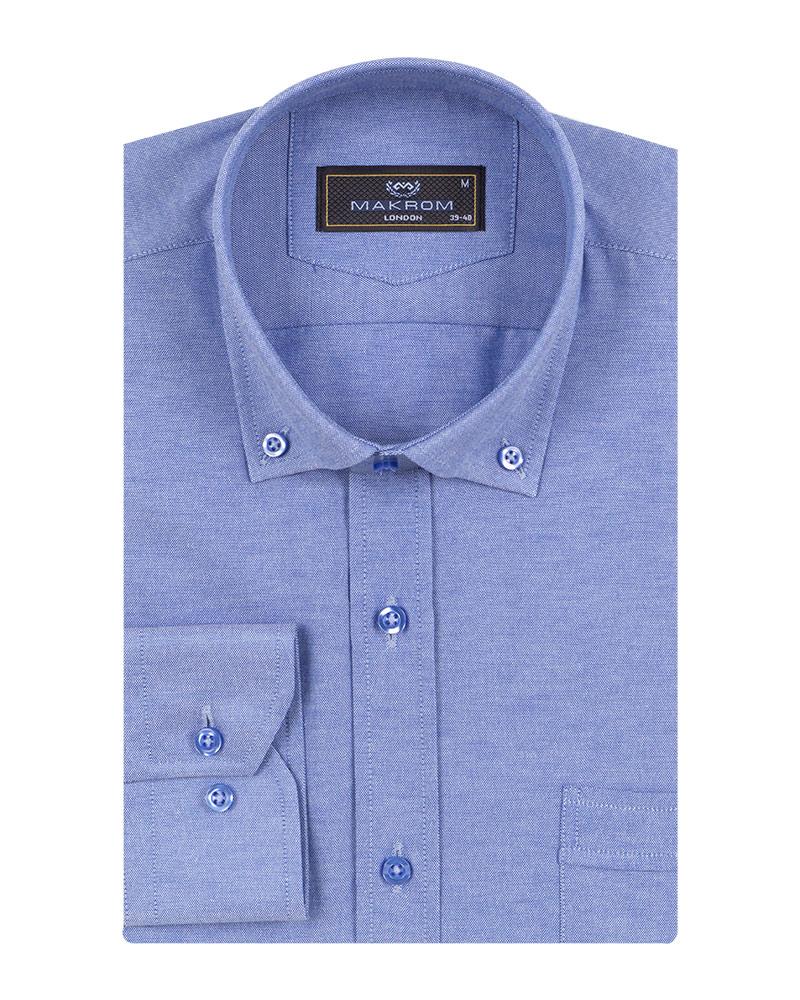 MAKROM - Luxury Textured Long Sleeved Shirt SL 7123 (1)