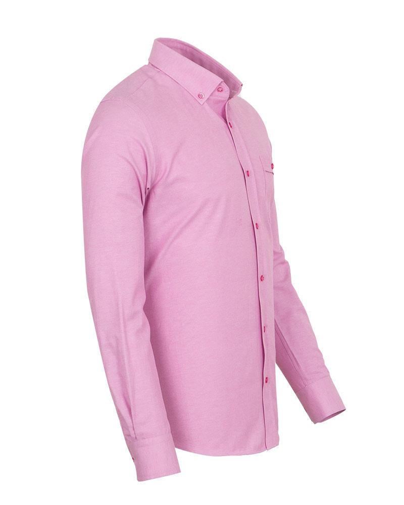 Luxury Textured Long Sleeved Shirt SL 7123 - Thumbnail