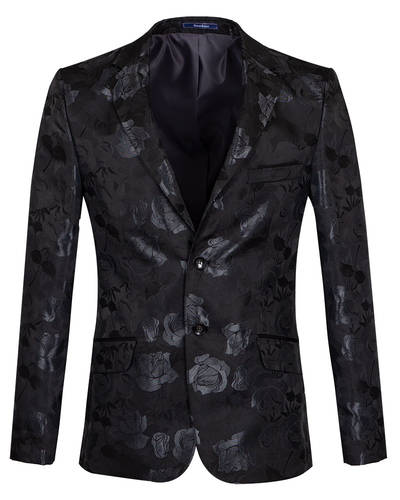 Oscar Banks - Luxury Textured Mens Blazer J 280