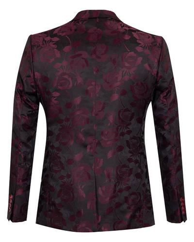 Luxury Textured Mens Blazer J 280