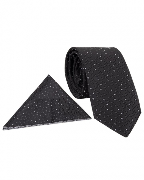 MAKROM - Luxury Triangle Shapes Printed Necktie KR 18
