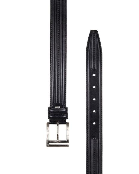 MAKROM - Luxury Triple Ply Leather Belt B 18 (1)