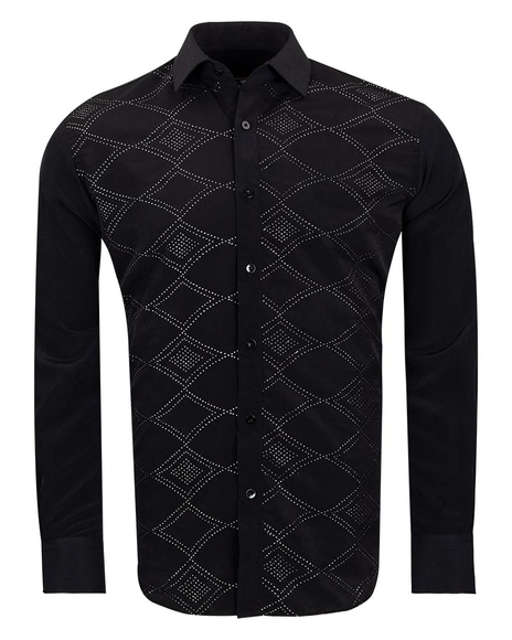MAKROM - Makrom Mens Shirt With Details SL 6892