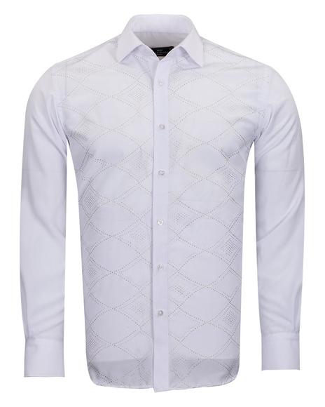 MAKROM - Makrom Mens Shirt With Details SL 6892 (1)