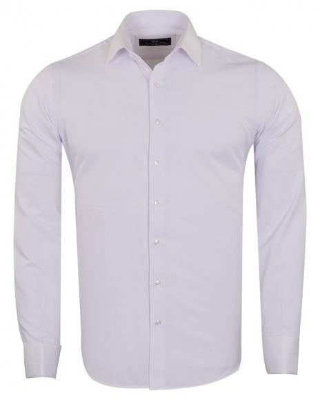 MAKROM - Mens Long Sleeved Dress Shirt SL 6745