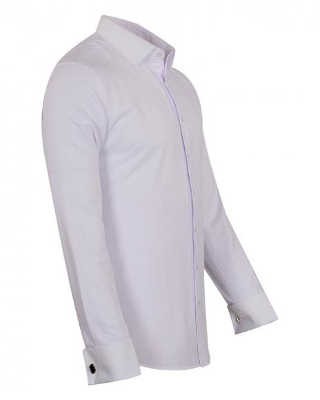 Mens Long Sleeved Dress Shirt SL 6745