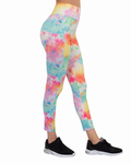 Multicolored High Waist Leggings TY 005 - Thumbnail
