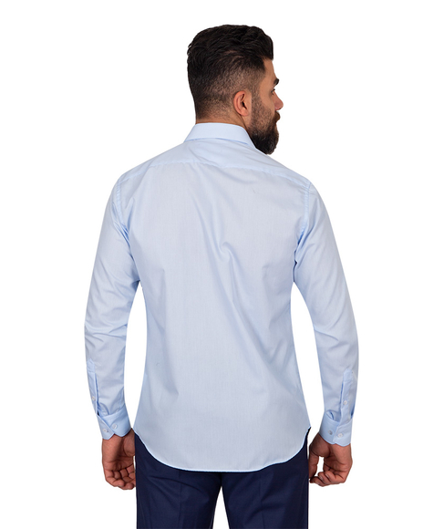 Oscar Banks - Oscar Banks Pure Cotton Mens Shirt SL 6898 (1)