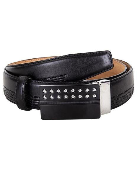 MAKROM - Patterned Leather Belt B 15