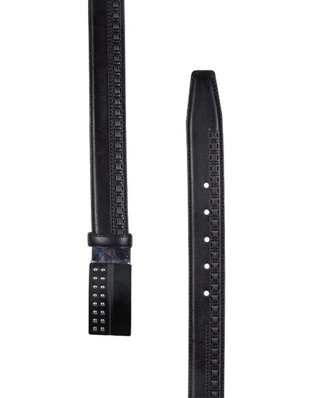 MAKROM - Patterned Leather Belt B 15 (1)