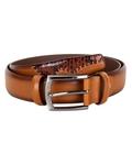 Patterned Leather Belt B 21 - Thumbnail