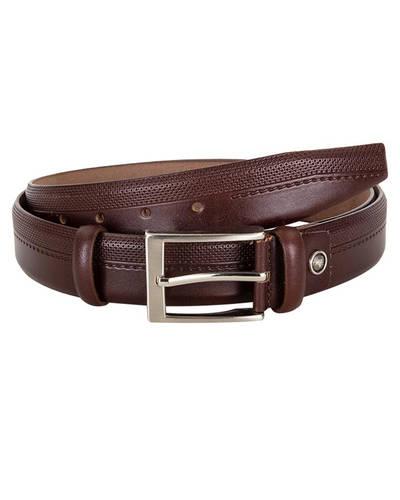 MAKROM - Patterned Leather Belt B 24