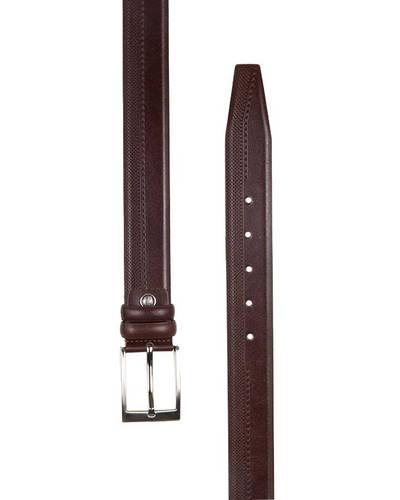 MAKROM - Patterned Leather Belt B 24 (1)