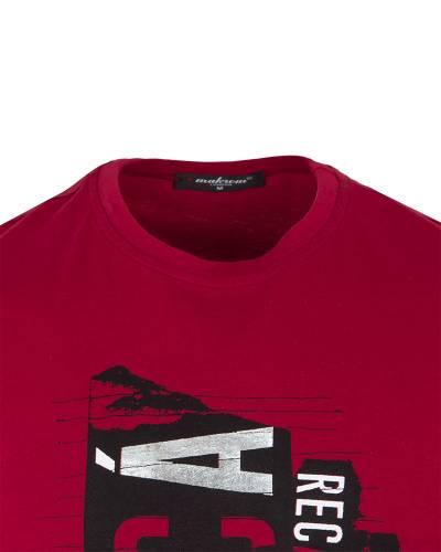 Patterns Printed Short Sleeved T-Shirt TS 1260