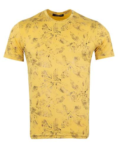 MAKROM - Luxury Patterns Printed Short Sleeved T-Shirt TS 1237