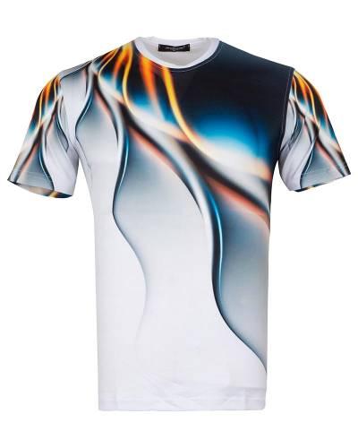 MAKROM - Patterns Printed Short Sleeved T.Shirt TS 1267