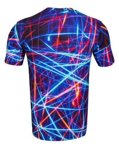 MAKROM - Patterns Printed Short Sleeved T.Shirt TS 1271 (1)