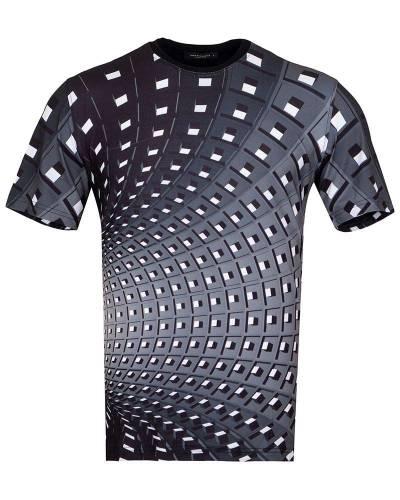 MAKROM - Patterns Printed Short Sleeved T.Shirt TS 1272