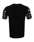 Patterns Printed Short Sleeved T.Shirt TS 1272 - Thumbnail