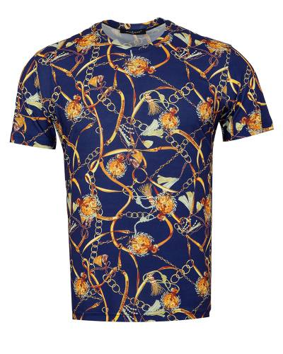 MAKROM - Patterns Printed Short Sleeved T.Shirt TS 1280